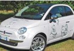 Dünyanın en pahalı Fiat 500'ü