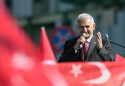 TBMM Başkanı Yıldırım, yeni görevinden sonra ilk kez İzmir'de