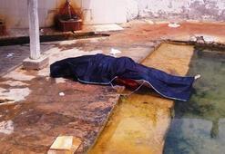 Termal havuzda feci son Havuza girer girmez...