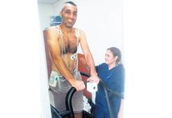 Altay, sağlık testinden geçti