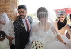 Cudinin eteklerinde masal gibi düğün