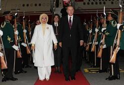 Cumhurbaşkanı Erdoğan Güney Afrika'da