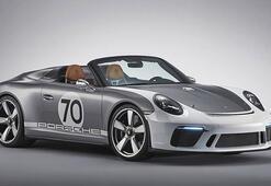 70inci yıla özel Porsche 911 Speedster