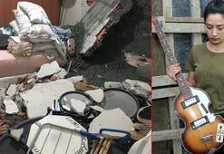 Oyuncu Gülden Dudarıkın evi beton altında kaldı