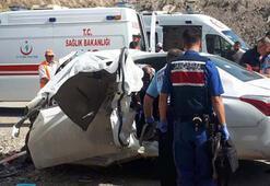 Kırıkkale Ankara yolunda feci kaza Ölüler var