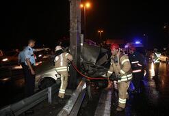 Korkunç kaza Paramparça oldu…