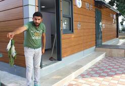 Türkiyenin en pahalı tuvaleti 2 gün dayandı