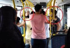 Halk otobüsünde yaşandı Anbean kaydedildi