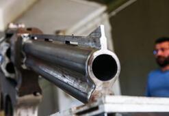 3 metre uzunluğunda 100 kiloluk silah