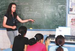 Tatile çıkmak yerine Nevşehir'de ders verdiler
