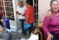 Kanlar içinde kalan marketçi kadın azılı suçluyu sopayla kovaladı