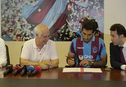 Trabzonspor, Vahid Amiriye imza attırdı