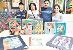 İzmirli Picasso'dan engelsiz sergi