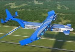 Türkiyede yaşayan Rus mühendis uçan tren tasarladı
