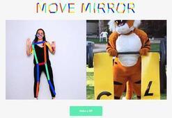 Yaptığınız hareketlerin benzerini yapanlar saniyeler içinde karşınızda: Google Move Mirror