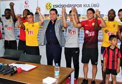 Eskişehirsporda imza şov 8 transfer...