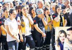 112 çalışanına hüzünlü tören
