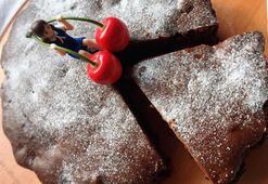 Vişneli ve çikolatalı kek tarifi