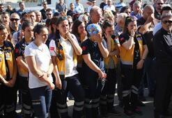 112 çalışanı Tuğba kurtarılamadı
