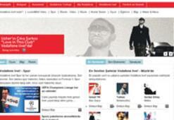 Vodafone 'içeriğe' yüklenmeye başladı
