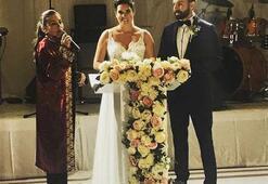 Oyuncu Bengi Öztürk evlendi