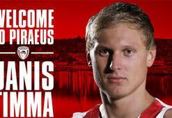 Olympiakos, Janis Timma ile anlaştı
