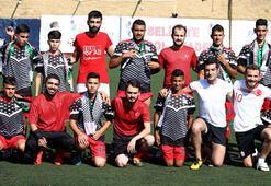 Türk ve Filistinli gençler futbolla buluştu