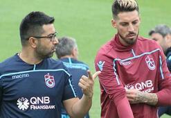 Trabzonsporda Sosa, takımla çalışmalara başladı