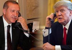 Son dakika... Erdoğan ve Trump telefonda görüştü