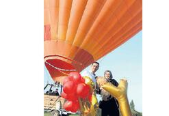 Balon turunda sürpriz teklif