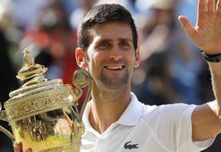 Wimbledonda şampiyon Djokovic