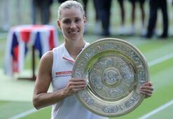 Kerber, Wimbledonda tarih yazdı
