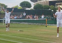 Yankı Erel Wimbledonda çiftlerde finalde