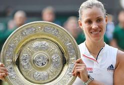 Wimbledonda şampiyon Kerber