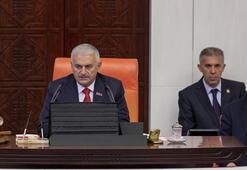 Genel Kurul, TBMM Başkanı Binali  Yıldırım başkanlığında ilk kez toplandı