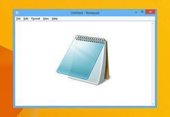 Windows Notepad yıllar sonra güncellendi