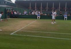 Yankı Erel Wimbledonda çiftlerde çeyrek finalde