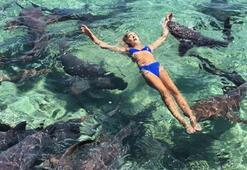 Katarina Zarutskie köpekbalığı saldırısına uğradı