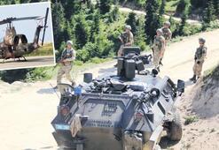 Havadan karadan PKK'lı terörist avı