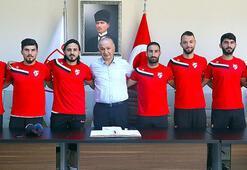 Boluspor 8 futbolcu ile sözleşme imzaladı