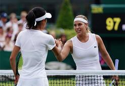 Ünlü isimlerin Wimbledon şaşkınlıkları
