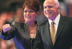 McCain'i ilk görüşte çarptı