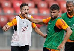 Galatasarayda çift antrenman