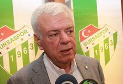 Bursaspor Başkanı Ay: Afyonkarahisarı çok beğendik