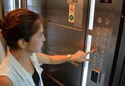 Aidat ödemeyen komşu için asansöre şifre taktırdılar