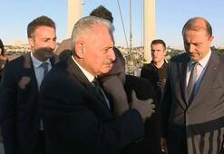 Başbakan Yıldırım köprüdeki intihar teşebbüsünü önledi