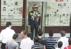 'Pala Şair' tekrar İstiklal Caddesi'nde