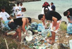 Adaboğazı sahilleri pırıl pırıl yapıldı