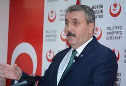 BBP Genel Başkanı Destici: Büyük Birlik Partisinin milletvekiliyim