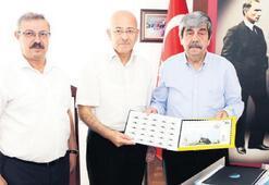 Burhaniye'nin tanıtımı için PTT'den özel pul